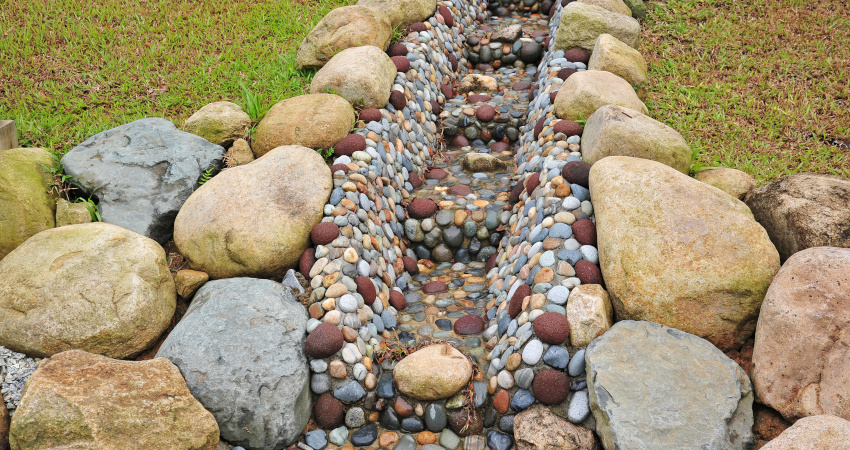 Decorated-Water-Drainage